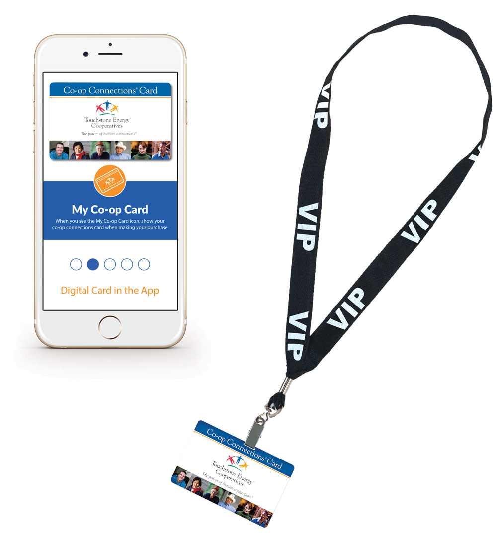 CCC Mobile App and Lanyard